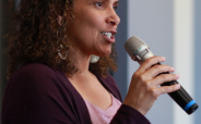 Tara Head Shot Purple