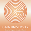 Gaia University Logo Light With Slogan