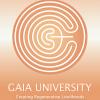 Gaia University Logo Light With Slogan