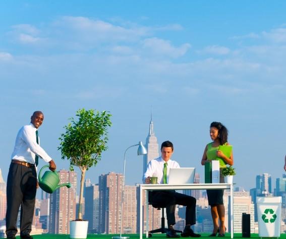 Green Business Stock Photo E1444093634275