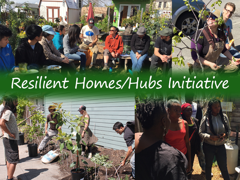 Bringing Permaculture to Neighborhoods with the Resilient Hubs Initiative