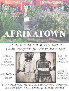 Afrikatown Community Garden